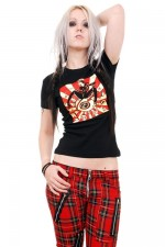 ABF417 Eyeball Vince Ray Girls Tee