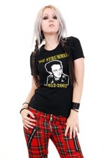 Joe Strummer RIP Girls Tee. Punk Clash