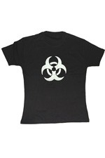 ABZ487 Bio Hazard Girls Tee