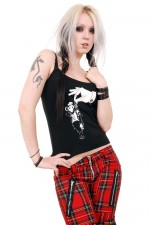 ABZ701 Vermin Nicked Girls Punk Strappy