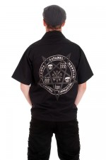 BBH410 Pentagram Mens Work Shirt