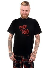 BBZ548 Punks not Dead Mens Tee