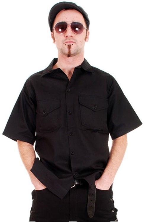 BBH403 Heavy Duty Cotton Mens Work Shirt
