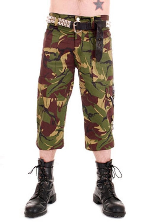 CCF830 Bondage Camo 3/4 Length Pants