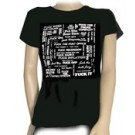 ABZ451 Fuckeverything Girls Tee